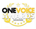 Emma Wheeler Voice Overs One voice Awards Logo